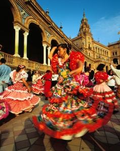 Seville Flamenco Dancers