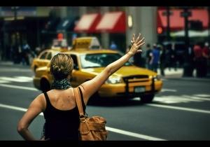 Hailing A Cab