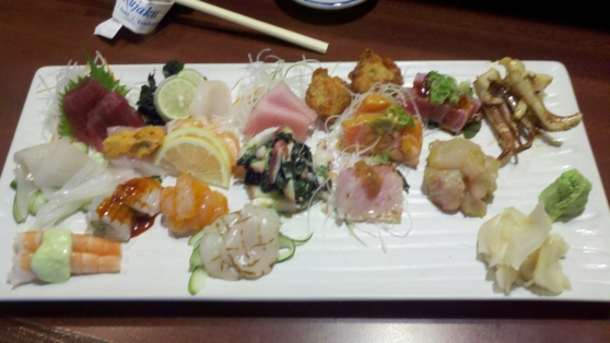 Awesome Sashimi!